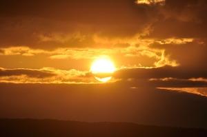 Sun above remstal